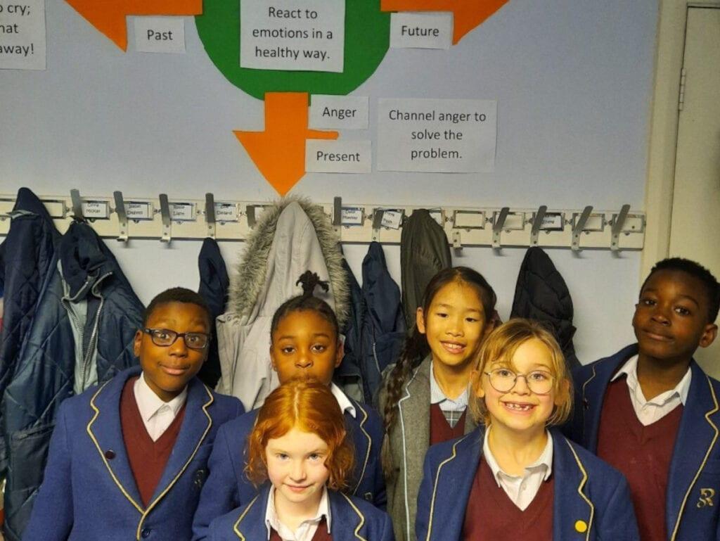Pupils at Rookwood School, private school, Hampshire