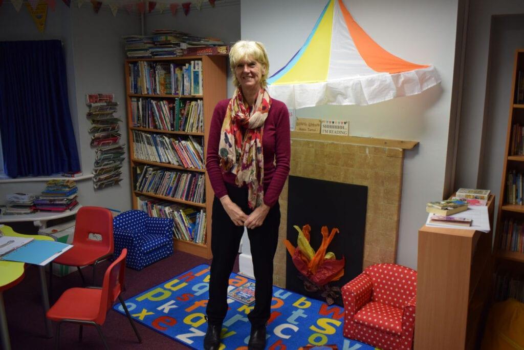 Saying goodbye to a Rookwood School teacher.