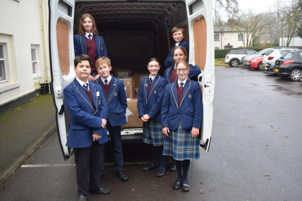 Rookwood School pupils dressed smartly in their uniforms