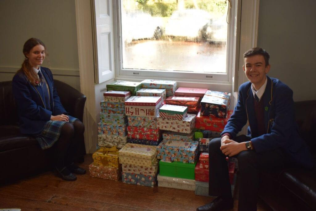 Rookwood School pupils at Christmas time