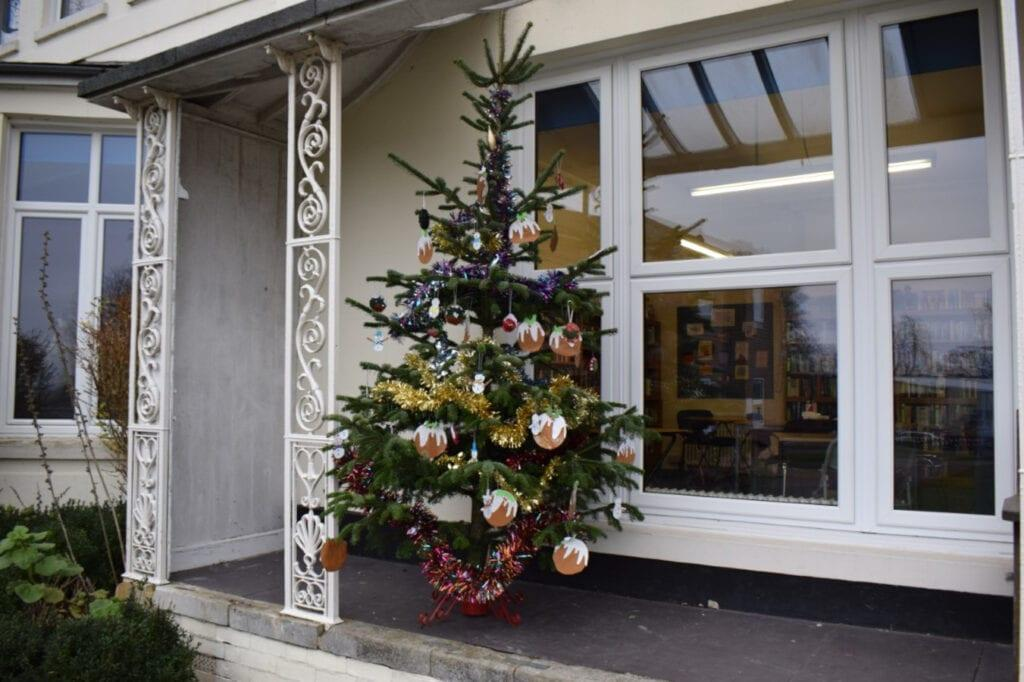 Christmas festivities at Rookwood School, private secondary school in Andover