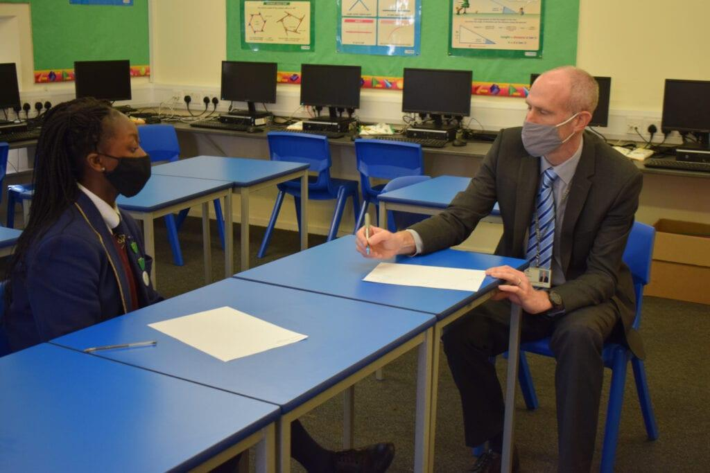 Mentoring Scheme at Rookwood School, a private secondary school in Hampshire
