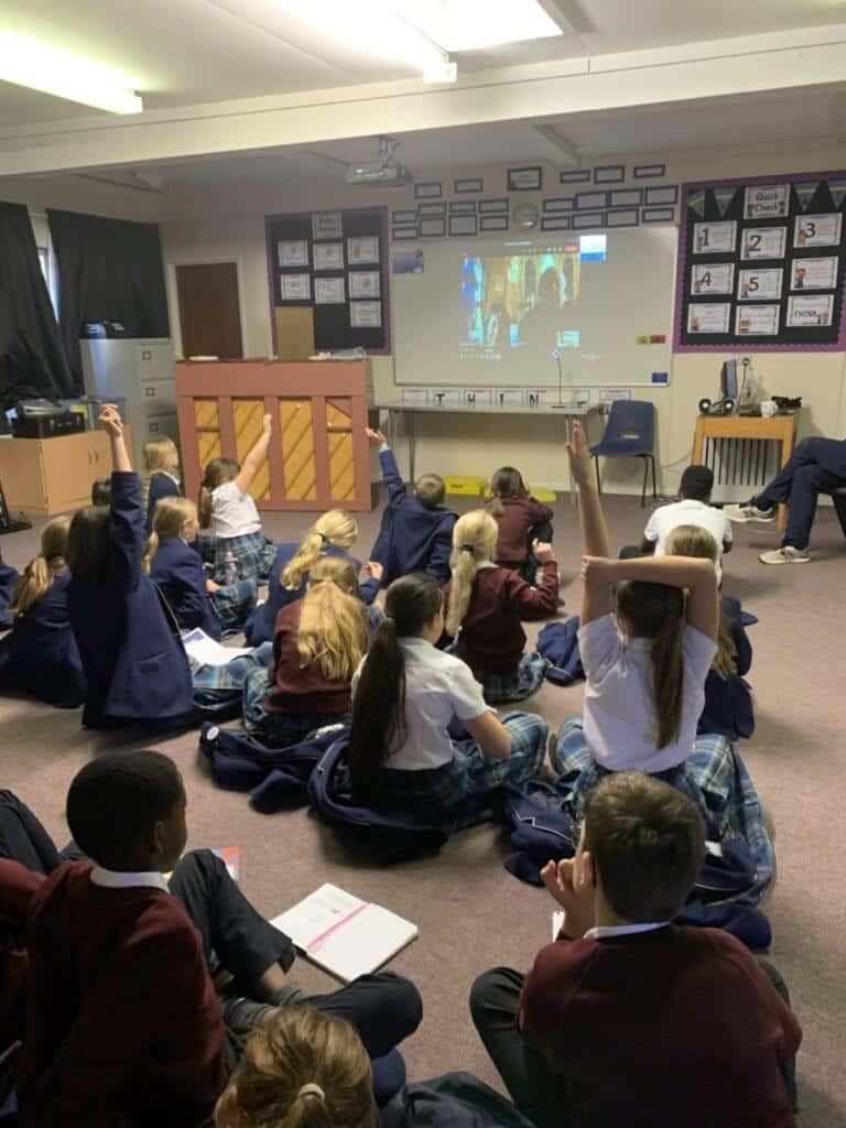 Parliament week at Rookwood School, a private school, Hampshire