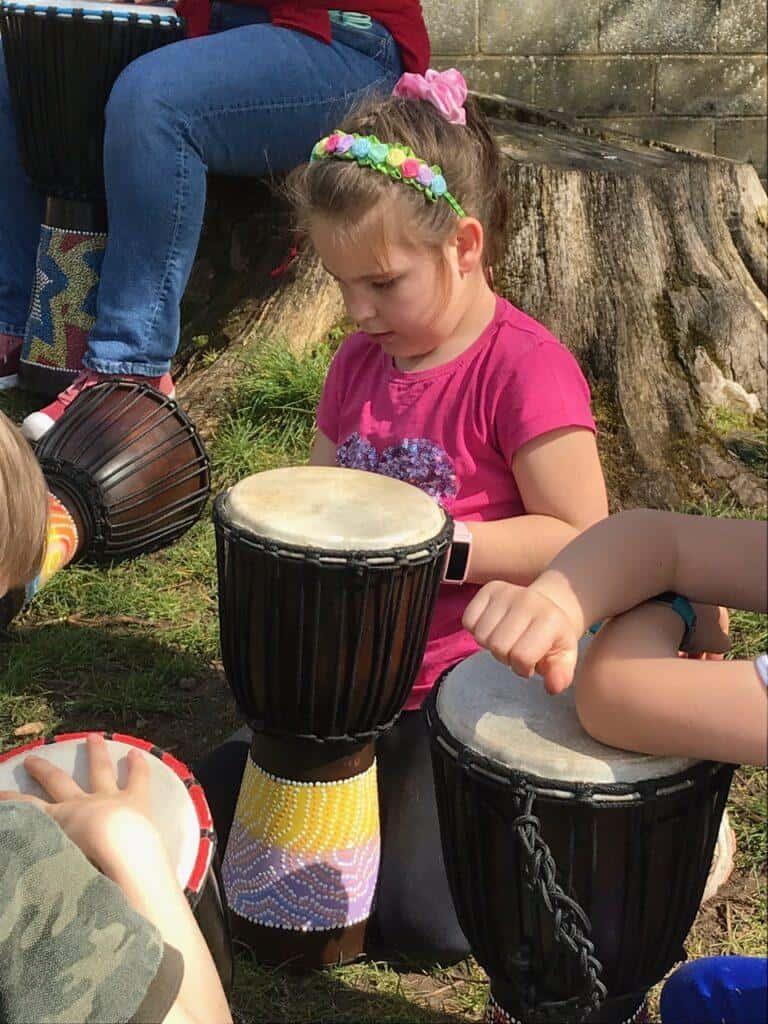 Music at summer camp